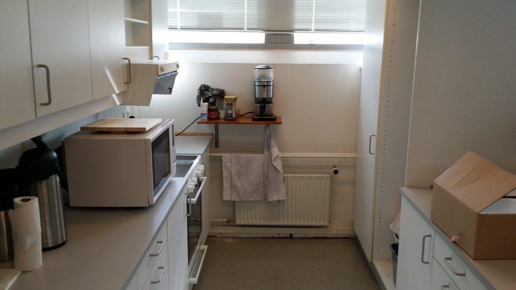Køkkenet er blevet fremkommeligt!